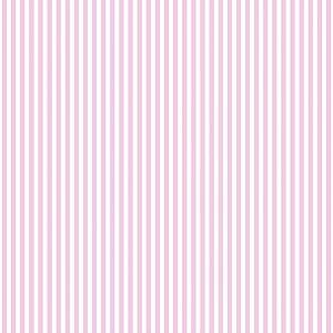 Tecido 100% algodão - Estampa Listrado Miudo Rosa -  0,50 metro