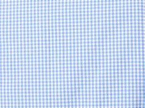 Tecido 100% algodão - Estampa Xadrez Pequeno Azul -  0,50 metro