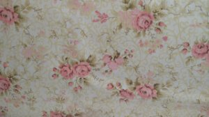 Tecido 100% algodão - Estampa Flores Rosas - 0,50 metro