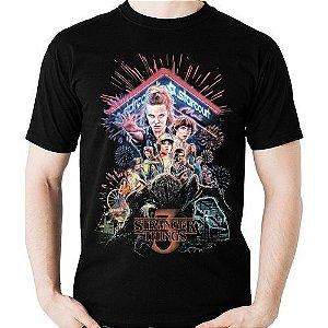 Camiseta Stranger Things geek