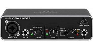 Interface Audio Behringer U-phoria Umc22
