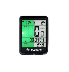 Velocímetro Inbike Sem Fio visor LCD Touchscream Waterproff