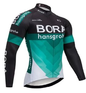 Camisa Bora Manga Longa Bicicleta Ciclista Esportiva Fitness