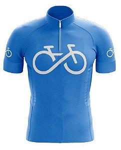 Camisa Infantil Ciclismo Bike Forever Uv Confortável Dry Fit Respirável