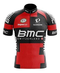 Camisa Infantil BMC Ciclismo Uv+ Confortável Dry Fit Respiravel
