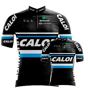 Conjunto Camisa Caloi  Pai E Filho Ciclismo Bicicleta Mtb
