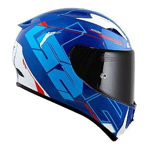 Capacete LS2 FF323 Arrow Techno Azul