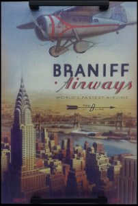 BANDEJA CÉU AZUL - BRANIFF AIRWAYS
