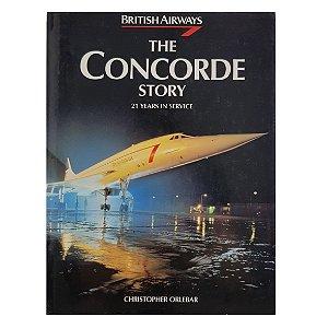 LIVRO THE CONCORDE STORY DE 1996
