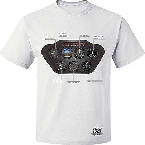 CAMISETA VHD - R22 BRANCA