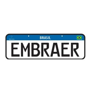 Placa Embraer | Ju Helps
