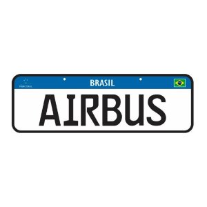 Placa Airbus | Ju Helps