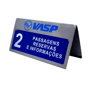 Placa de Metal Vasp