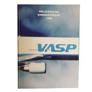 Revista de Relátório da Admistração 1996 Vasp