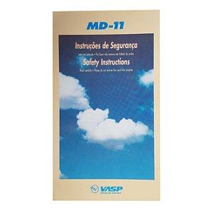 CARTAO DE SEGURANÇA VASP - MD 11 BEGE