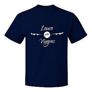 Camiseta Asas de Avião   Louco por Viagens
