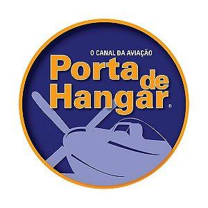 ADESIVO PORTA DE HANGAR AZUL