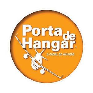 ADESIVO JATO AMARELO | PORTA DE HANGAR