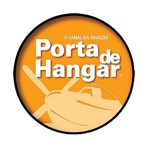 ADESIVO HÉLICE AMARELO | PORTA DE HANGAR