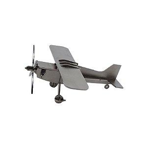 Maquete de avião de metal para montar