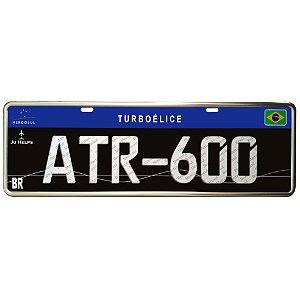 Placa decorativa em aço ATR-600 | JU HELPS