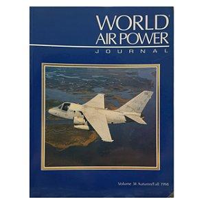 LIVRO WORLD AIR POWER VOLUME 34 DE 1998