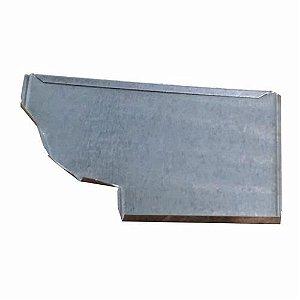 Cabeceira Frontal Galvanizada Moldura 28 Esquerda