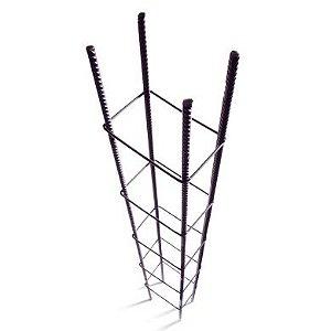 Coluna 4 Ferros 3/8 Estribo 9 X 12 Com 1,0m