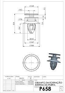 GRAMPO GRADE SUP FH 400/420/440/460/480/500/520 (ATE 2014)