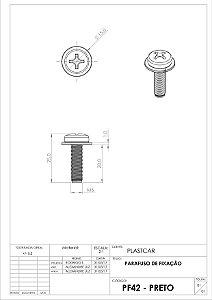 PARAFUSO FAROL M6X20 (FIORINO/PALIO/STRADA/UNO)