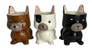 Vaso Cachorrinho Cerâmica