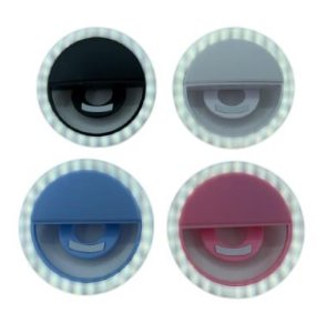 Ring Light Selfie Cores Sortidas