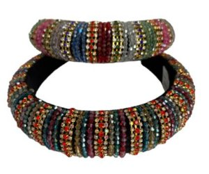 Tiara Pedras Coloridas