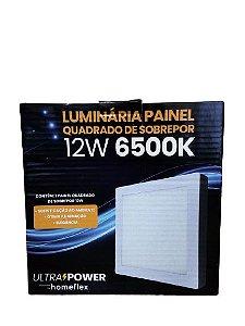 Painel Quadrado de Sobrepor 12W 6500K