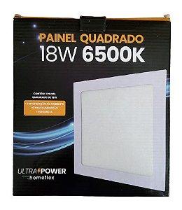 Painel Quadrado de Embutir 18W 6500K