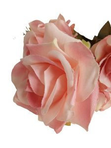 Buquê Rosa Diamante X11 53CM