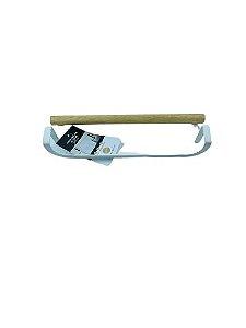 Porta Toalha de Porta Metalla Branco