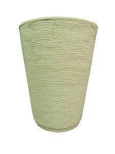 Vaso Cone P com Prato Cores Sortidas