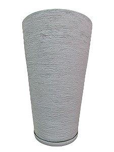 Vaso Cone Grande com Prato Cores Sortidas