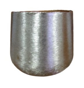 Vaso Alumínio Dourado P