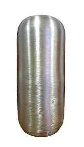 Vaso Alumínio Dourado Madurai M