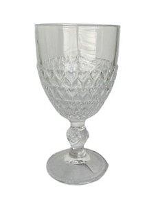 Taça para Água Cristal Coração 330ml