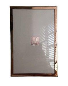 Porta Retrato Metal Dourado 10x15