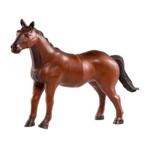 Cavalo Marrom de Vinil VB233