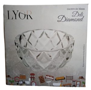 Centro de Mesa Cristal Deli Diamond 1237