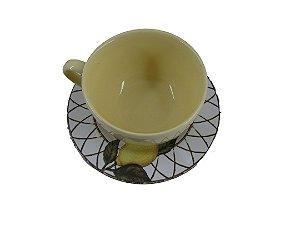 Xícara de Chá com Pires Siciliano
