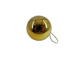 Bola Natal Dourada  X3 5CM 15411