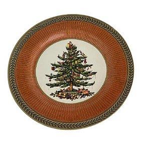 Prato Sobremesa Celebrate Vermelho Natal