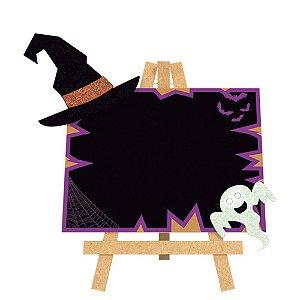 Lousa Halloween com Led