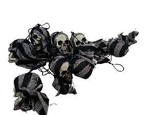 Varal Caveira Halloween